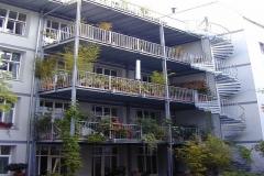 Balkone Stahlgeländer