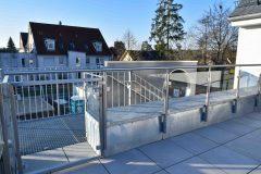 Balkon Glas Geländer