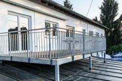Balkon Stahlgeländer