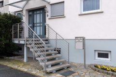 Eingang Geländer