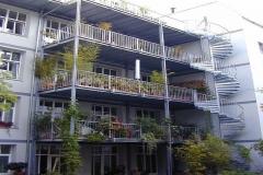 Anlage mit Treppe