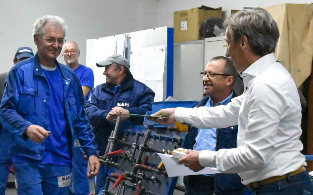 20-jähriges Betriebsjubiläum bei KA Metallbau
